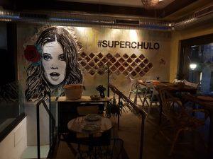 Superchulo_Mural pintado