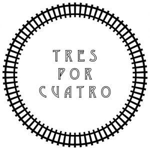 Logo Tres por Cuatro