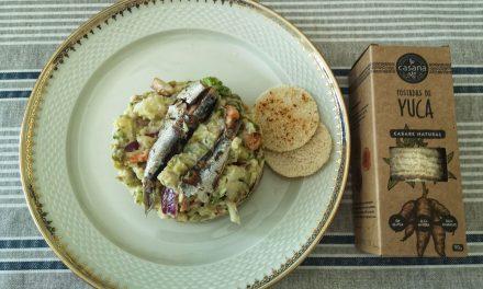 Ensaladilla con sardinas